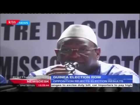 Guinea opposition rejects results of presidential election terming them as fraudulent