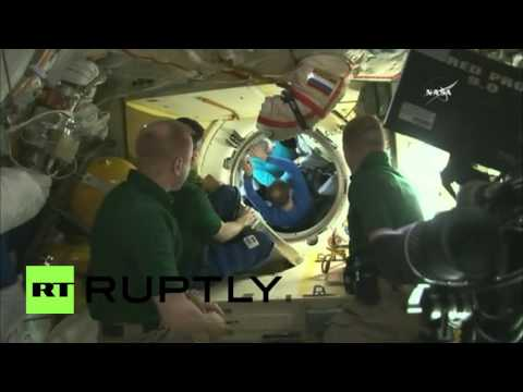 ISS: Scott Kelly and Mikhail Kornienko return to Earth after year in ...