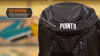POINT 3 Road Trip Basketball Back Pack