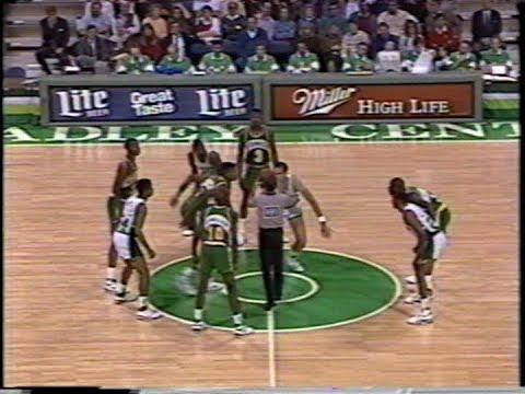 Sonics vs. Bucks 5OT Game - Makes, Important Plays (1989)