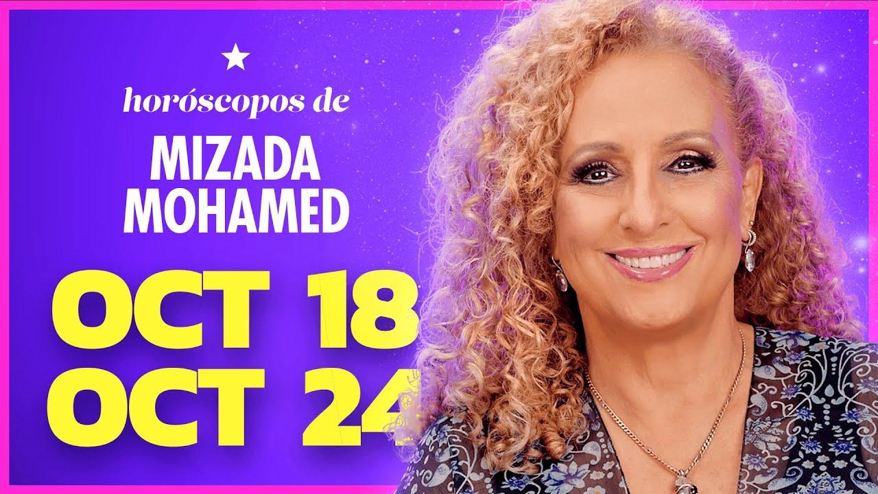 Download Horóscopo Semanal de Mizada Mohamed 18 al 24 de octubre 2021.