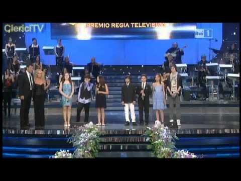 Madalina Lefter singing in Sanremo OSCAR TV 2011 for the   'Ti Lascio una Canzone'