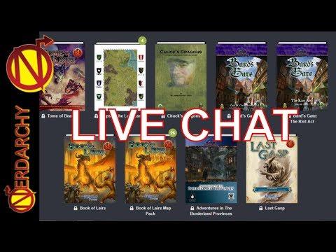 BEST D&D DEAL from Frog God Games & Kobold Press- Humble Bundle Nerdarchy Live Chat #168