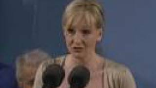 JK Rowling Harvard Commencement Speech Part 1 - June 5 2008
