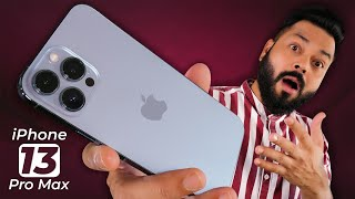 iPhone 13 Pro Max Real Life Review After 3 Weeks ⚡ Definitely Pro, Not So Max