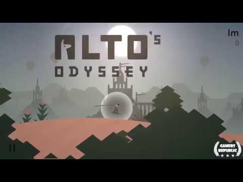 Alto's Odyssey | Land 10 backflips with Maya in one run | Pass through 3 waterfalls