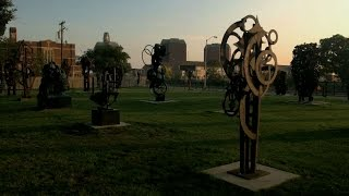 Artist Robert Sestok   Detroit Performs Clip