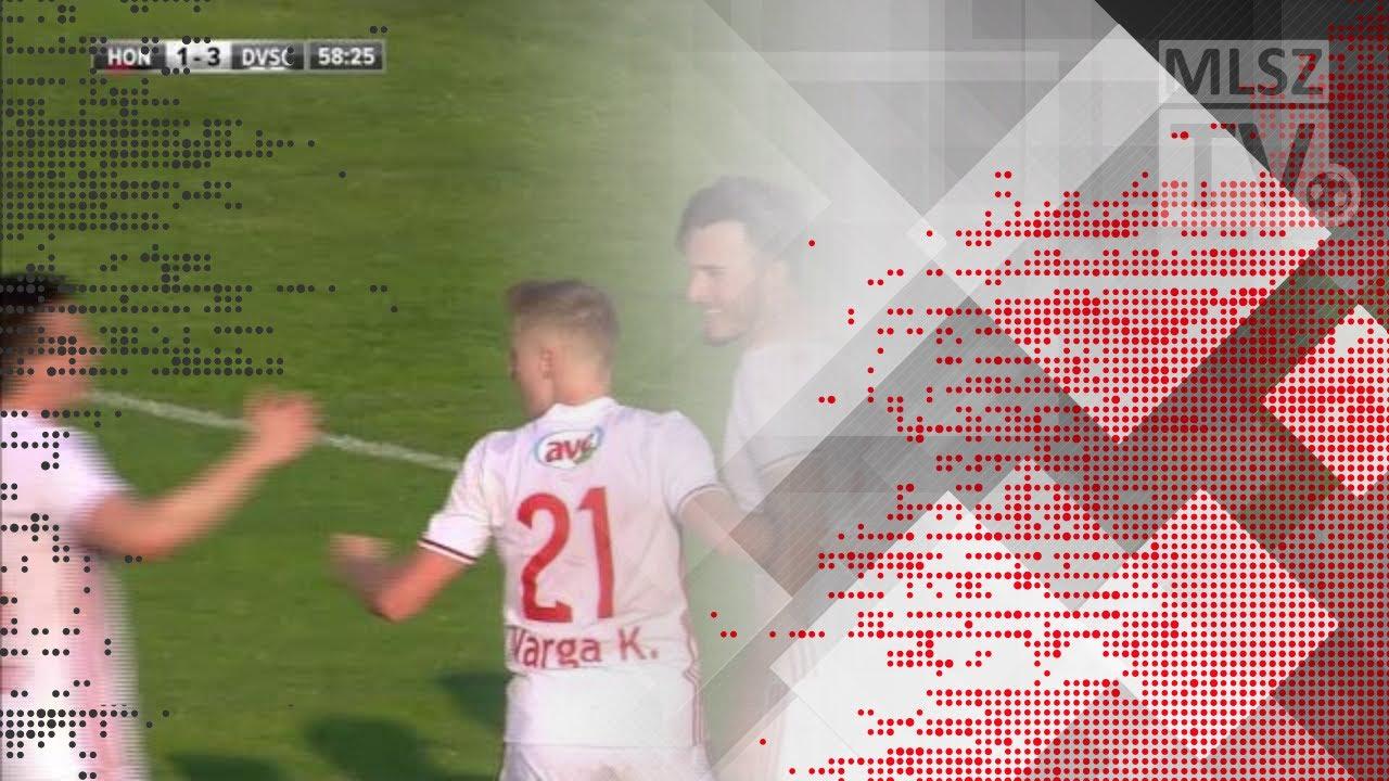 Tabakovic Haris második gólja a Budapest Honvéd - DVSC mérkőzésen