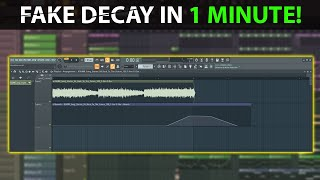 Fake Decay Effect You Never Knew You Needed - FL Studio 20 Tutorial #shorts