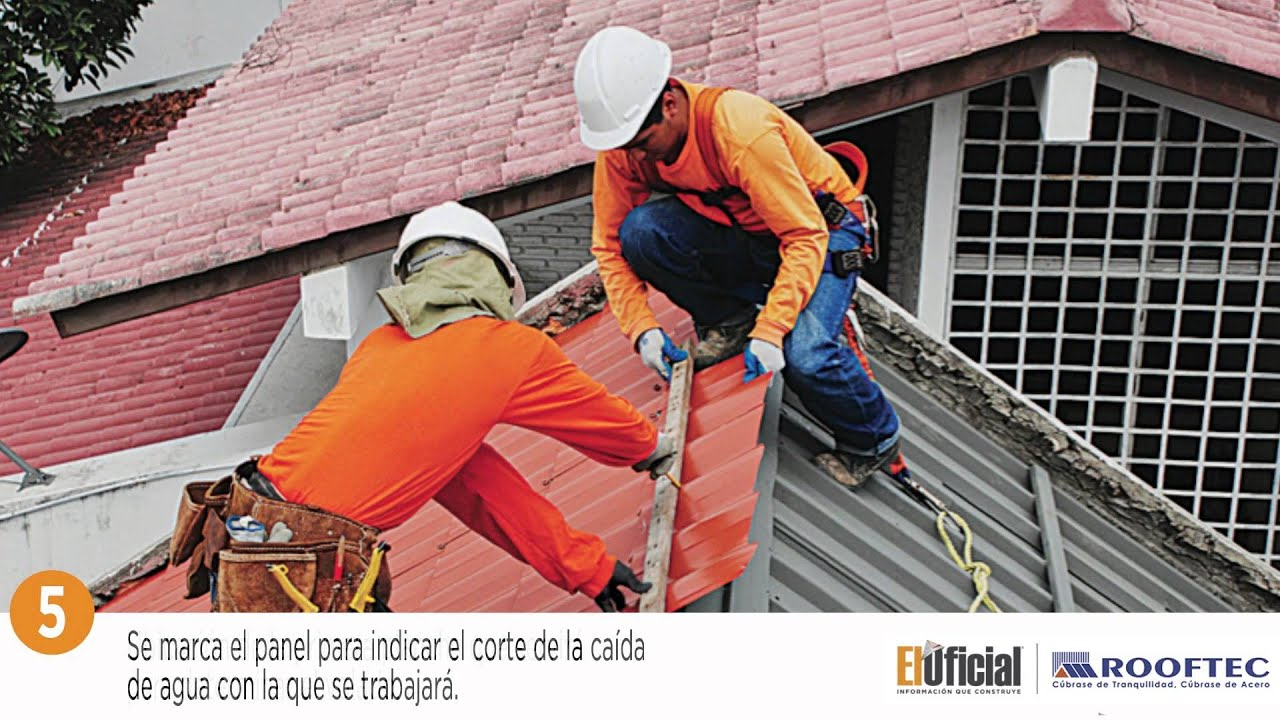 Instalaci 243 N De Teja Met 225 Lica Toledo Rooftec Youtube