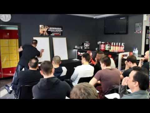 Seminario Entreno y Nutrición Toni Gutierrez - Sistema Multifibra - Puro Impacto Barcelona