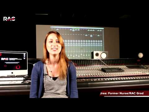 Careers In Sound Engineering | RAC | Recording Arts Canada
