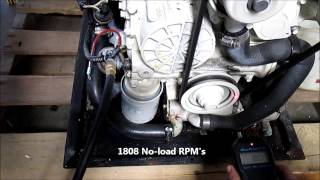 ONAN EQ-D 13.5kw 60hz MDKAZ Marine Generator shop run