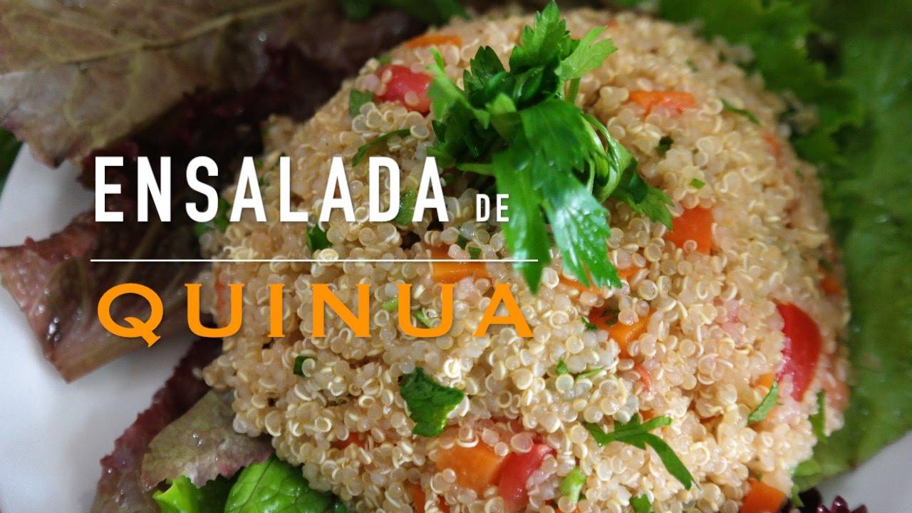 Ensalada De Quinua Receta Saludable 101115 Albiñafe Coello