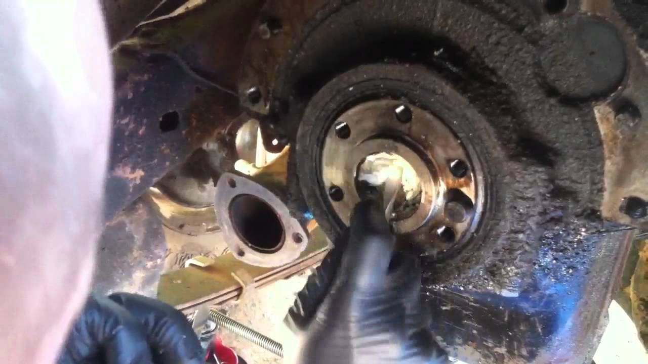 Pilot Bearing Removal With Bread Youtube