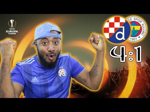 Dinamo 4-1 Fenerbahçe Review | Bad Blue Boys | Europa League