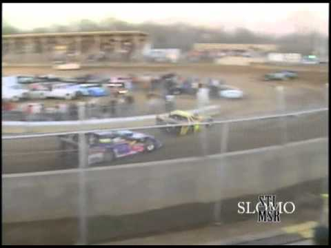 Late Model Rollover at Belle-Clair Speedway