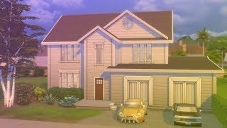 Generic American Style House - Sims 4 Speed Build