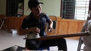 nhạc cụ tự chế  - hướng dẫn làm nhạc cụ từ chậu nước