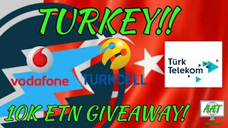 THIS IS HUGE! Electroneum Launches Turkey With Vodafone, TurkCell & Turk Telekom! 10K ETN Giveaway!