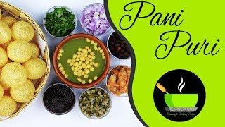 Homemade Pani Puri Recipe | Golgappa Recipe | Puchka Recipe | How To Make Pani Puri