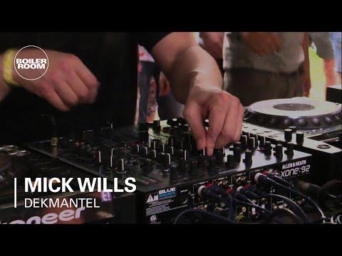 Mick Wills Boiler Room x Dekmantel DJ Set