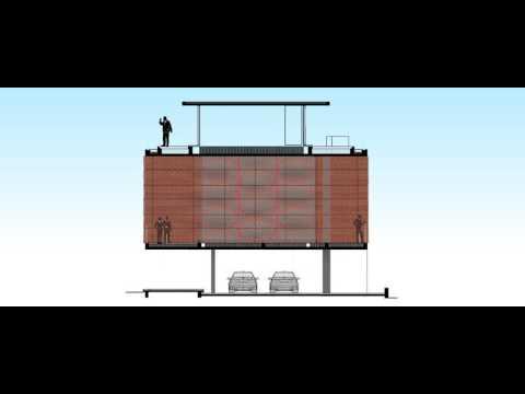 Brick Curtain House