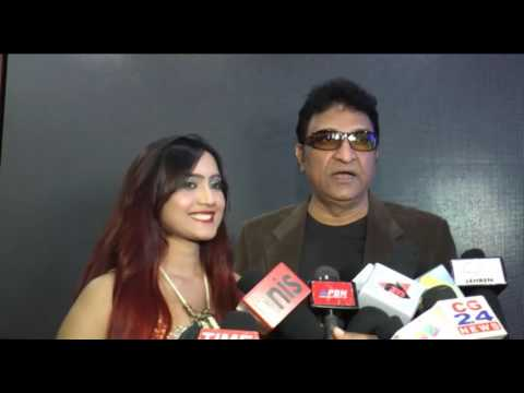 Singer Amika Shail Launch Of Single Titled Ankhan Sharabi By Dilip Sen