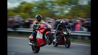 Drag Racing Honda vs Yamaha 402m