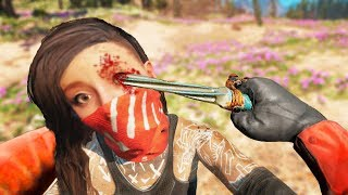 Far Cry New Dawn Stealthy Kills & Executions   Outpost Liberation