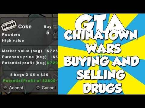 GTA Chinatown Wars-Buying And Selling Drugs