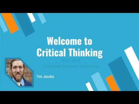 critical thinking phl 1010