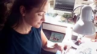 Как я кулон из пластичного серебра делаю
