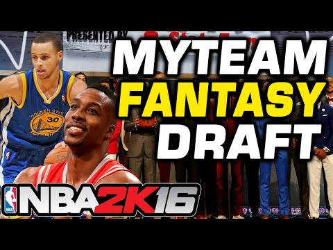 NBA 2K16 myTeam Fantasy Draft