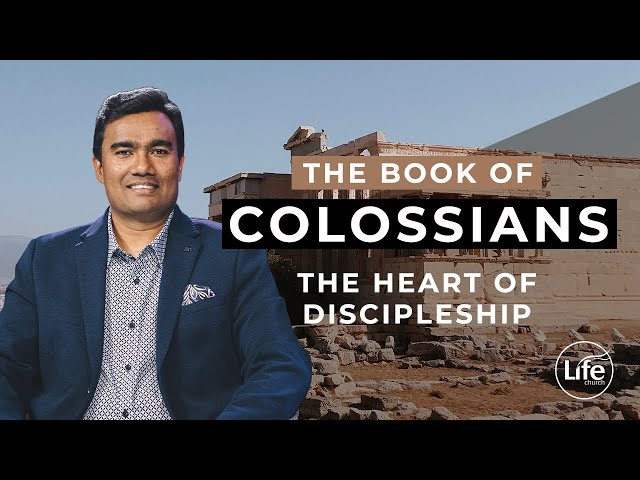 The Heart of Discipleship (Colossians 10) | Rev Paul Jeyachandran