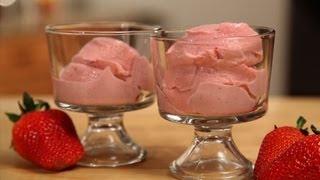 Quick Strawberry Ice Cream Recipe - Blendtec Recipes