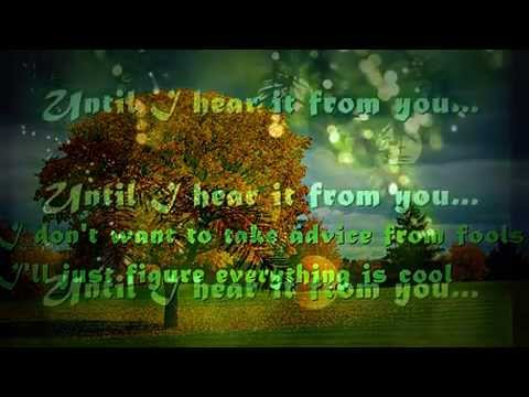Till I Hear It From You with s by GIN BLOSSOMS