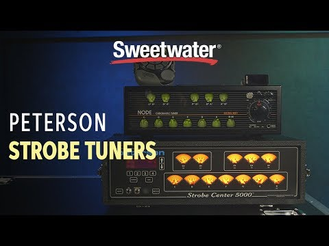Peterson Strobe Tuners Demo