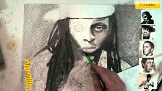 Draw Lil Wayne- Extended Portrait Shading Tutorial