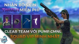 GET A FREE FORTNITE TWITCH PACK 2-SQUAD WIN WITH VIP. MINH NHAT