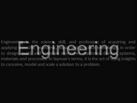 ENGINEERING - DEFINITION