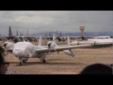 Aircraft Graveyard - Tucson, Arizona. Part 1