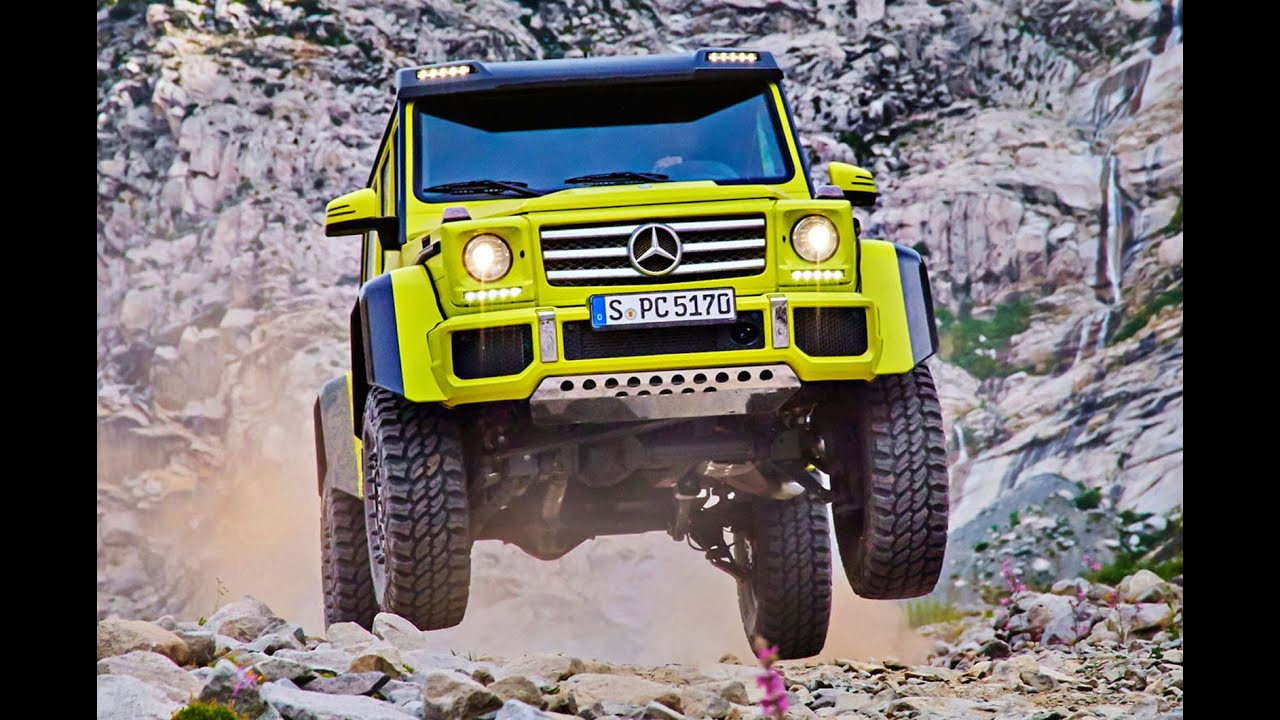 new mercedes benz g500 4x4 revealed youtube. Black Bedroom Furniture Sets. Home Design Ideas