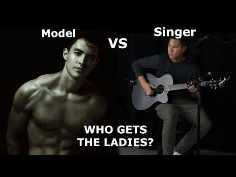MODEL Vs. SINGER!   Who Gets The Ladies? (Public Experiment) Ft. Luis Meza