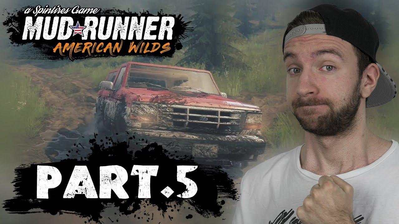 AMERICAN WILDS DLC! | Spintires Mudrunner #05