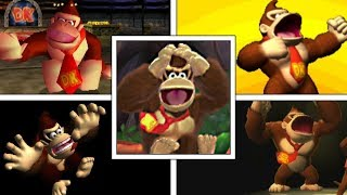 EVOLUTION OF DONKEY KONG DEATHS & GAME OVER SCREENS (1981-2018) SNES, N64, Wii, Switch & More!
