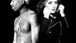 2pac feat Adele - My Block Hometown Glory Slow