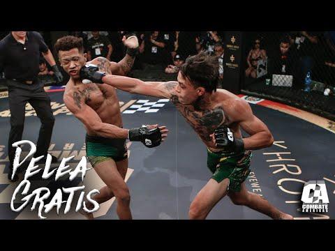 Pelea Gratis: Cristian Quiñonez vs Vinicius De Oliveira   MMA   Combate Americas