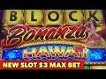 ⭐️NEW SLOT BIG WIN⭐️ BLOCK BONANZA HAWAII | TRIPLE WEALTH PHOENIX BONUS GAMES
