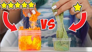 TESTING OUT THE BEST AND WORST REVIEWED ETSY SLIME SHOPS